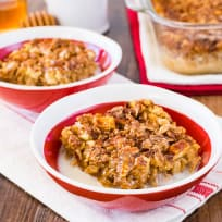 Cinnamon Apple Baked Oatmeal Recipe