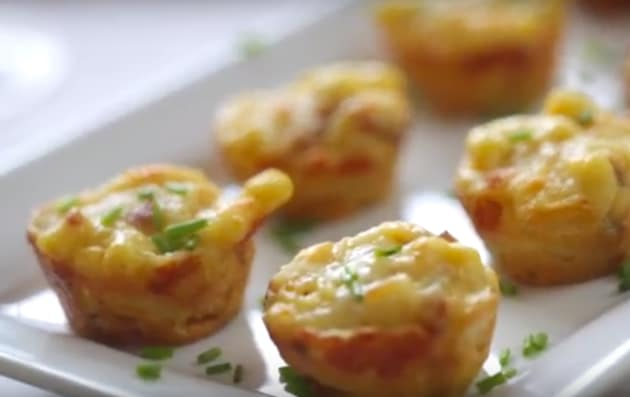 Mac & Cheese Bacon Bites