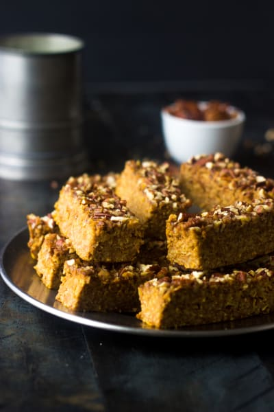 Pumpkin Protein Bars Picture
