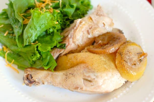 Slow Cooker Lemon Pepper Chicken Image