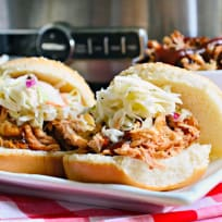 Slow Cooker BBQ Chicken Sandwiches Recipe