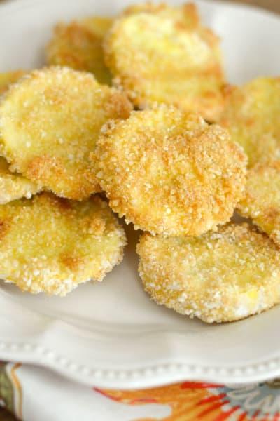 Gluten Free Crispy Squash Chips Picture