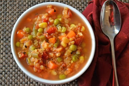 Lentil Vegetable Soup Recipe
