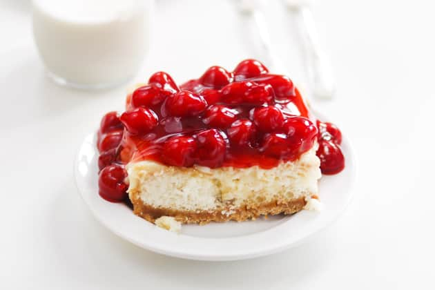Cherry Cheesecake Poke Cake Photo