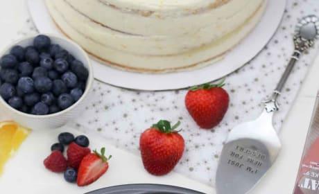 Mimosa Cake Image
