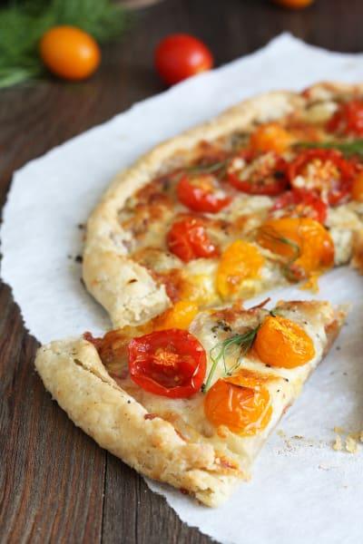 Tomato Fennel Tart Picture