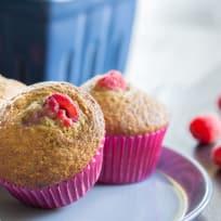 Raspberry Bran Muffins Recipe