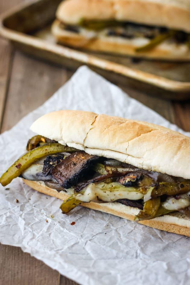 Portobello Mushroom Sandwich Picture