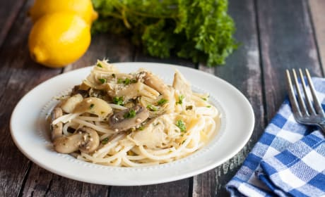 Gluten Free Pasta with White Wine Sauce Recipe