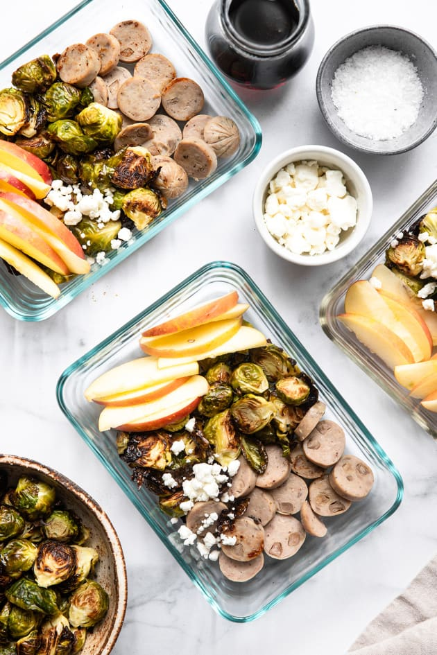 Roasted Brussels Sprouts Bowls Pic