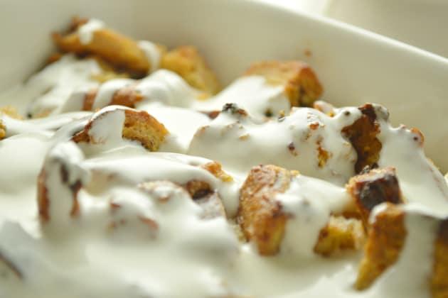 Cinnamon Raisin Bread Pudding Pic