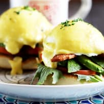 BLAT Eggs Benedict Recipe