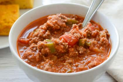 Paleo Stuffed Pepper Soup