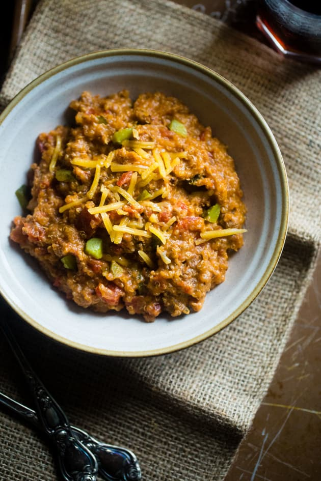 Cheeseburger Quinoa Picture