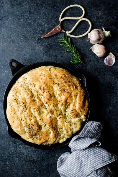 Herb Skillet Bread Image