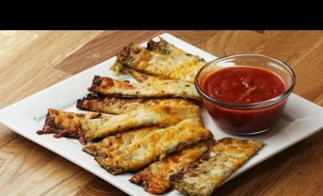 How to Bake Cheesy Zucchini Sticks