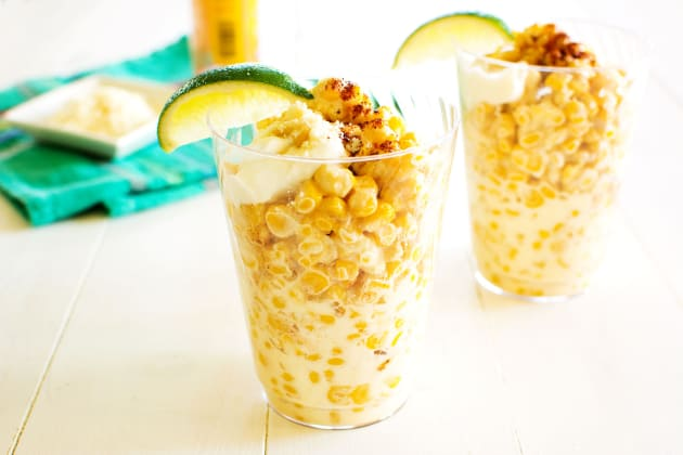 Mexican Corn in a Cup Photo
