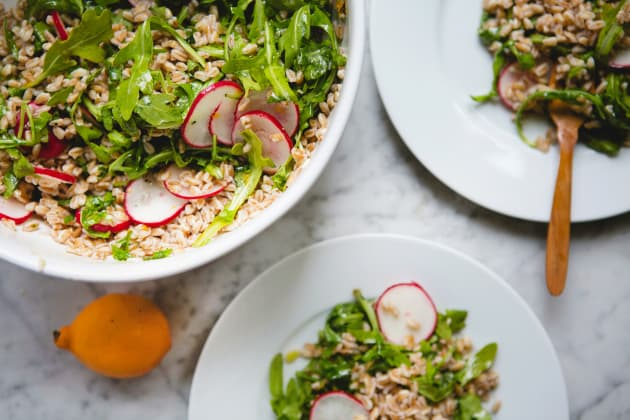 Farro Arugula Salad Image