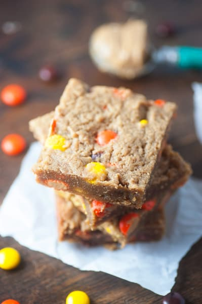 Peanut Butter Blondies Picture