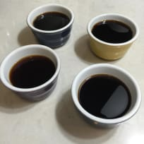 Coffee Jelly with Cream