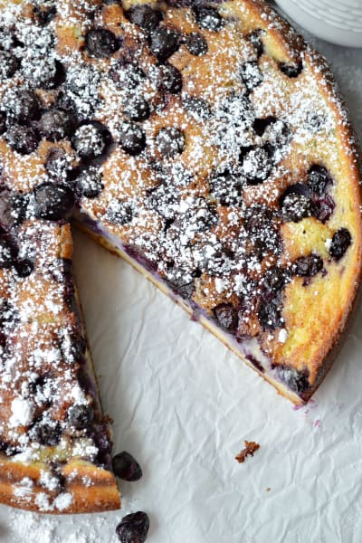 Blueberry Breakfast Cake Picture
