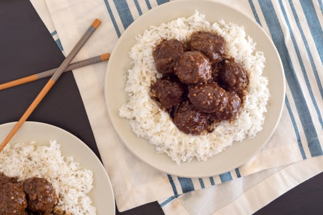 Instant Pot Gluten Free Teriyaki Meatballs Photo