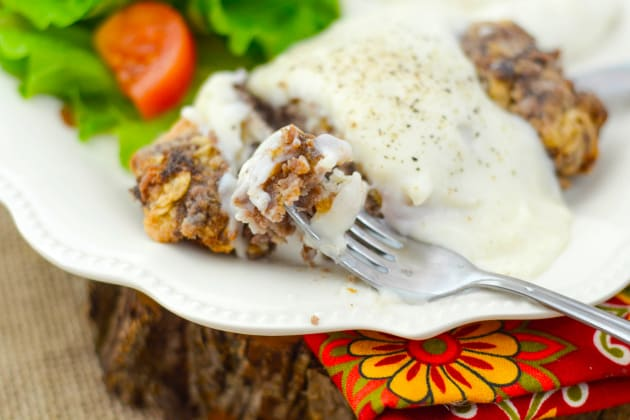 Gluten Free Chicken Fried Steak Pic