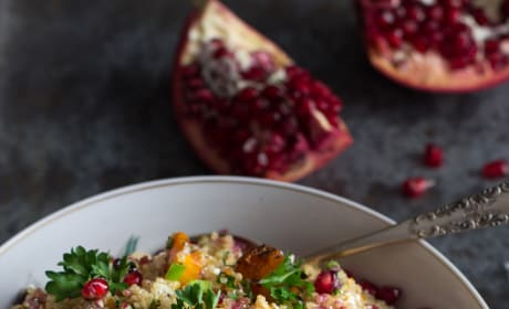 Roasted Butternut Squash Quinoa Salad Recipe Pic