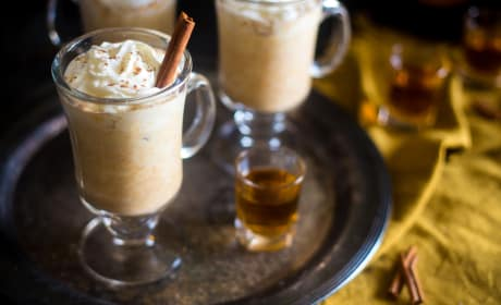 Maple Pumpkin Bourbon Steamer Recipe