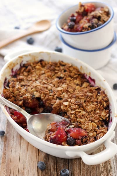 Blueberry Mango Crisp Picture