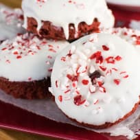 Red Velvet Peppermint Donuts Recipe
