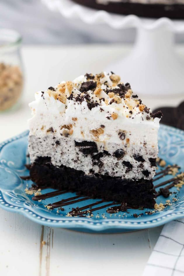 Oreo Brookie Mousse Cake Picture