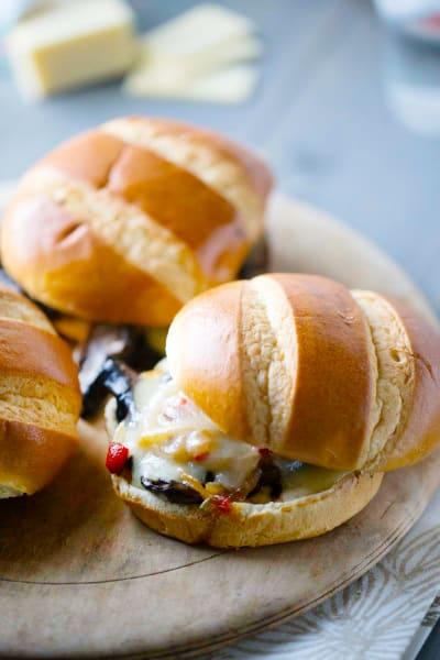 Portobello Veggie Sandwich Picture