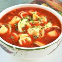 Tomato Tortellini Soup Recipe