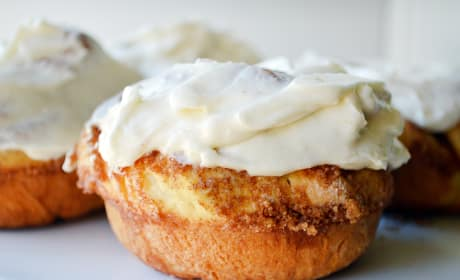 Cinnamon Roll Donuts Photo