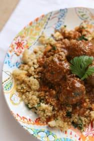Cilantro Pesto Meatballs