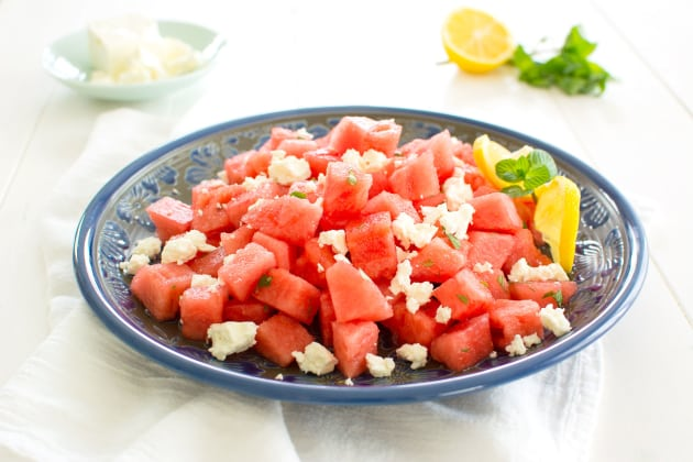 Watermelon and Feta Photo