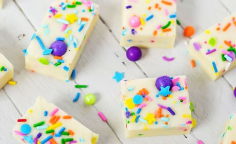 Gluten Free Cake Batter Fudge Photo