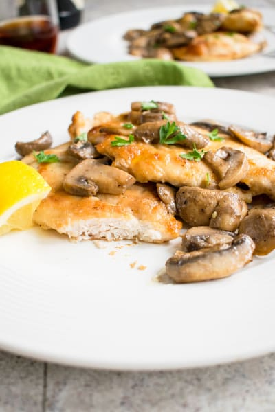 Easy Chicken Marsala Pic