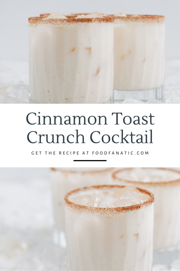 Best Cinnamon Toast Crunch Cocktail Photo