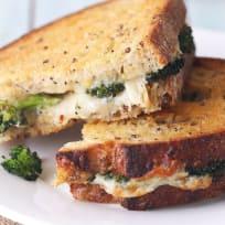 烤面包机烤箱烤奶酪三明治配方