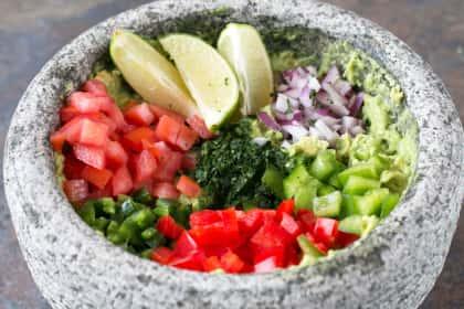 Veggie Guacamole
