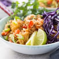 Hawaiian BBQ Chicken Fried Rice Recipe
