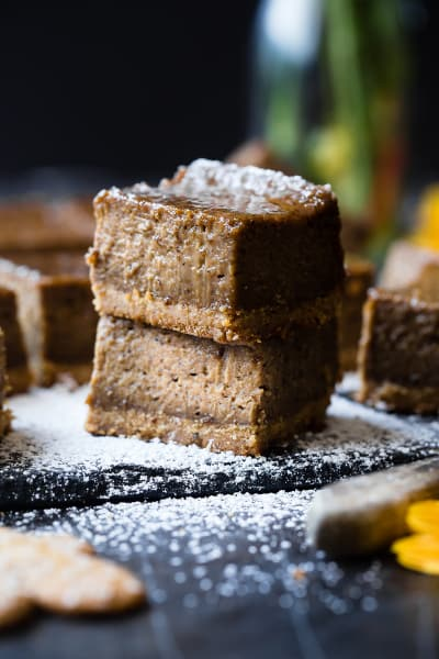 File 1 Gingerbread Coffee Vegan Cheesecake Bars