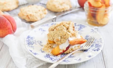 Paleo Peach Shortcake Recipe