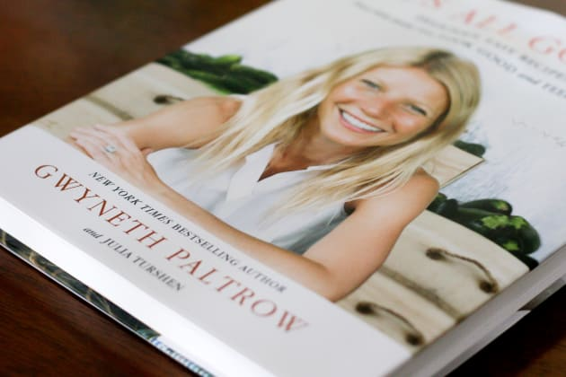 Gwyneth Paltrow Cookbook Photo