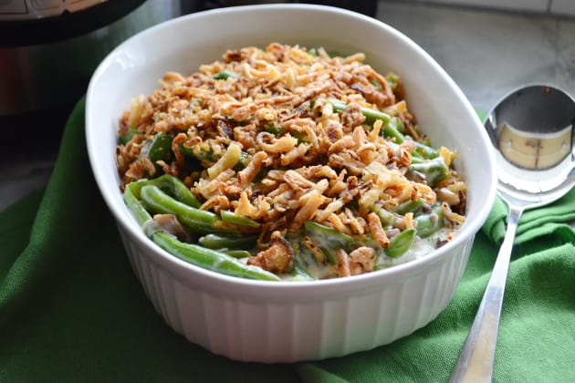 Instant Pot Green Bean Casserole Photo