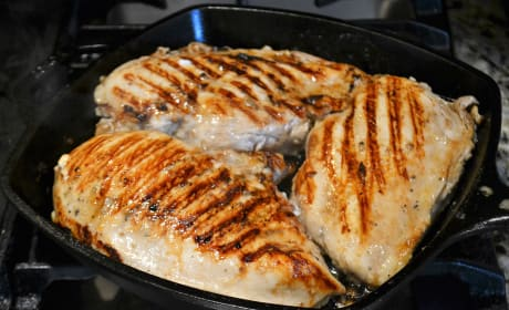 Grill Pan Chicken Breasts Picture