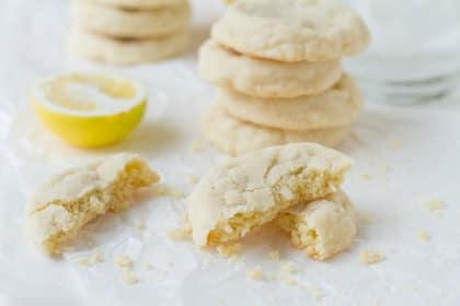 Meyer Lemon Cookies: Cheerful & Bright