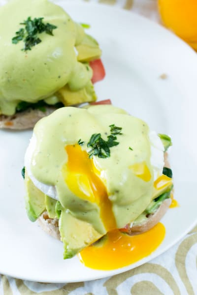 California-Style Eggs Benedict Picture